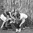 Laughing hugs-2