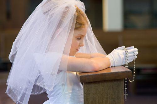 Beautiful praying